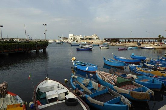 Province of Bari, Italy: boats in harbour