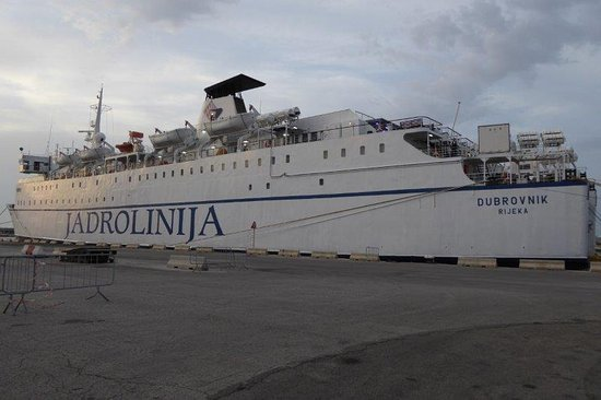 Province of Bari, Italien: ferry to Dubrovnik