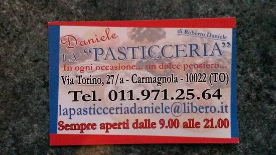 Carmagnola, Italy: La Pasticceria Daniele Di Daniele Roberto