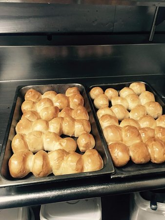 Sturgis, MI: These are the rolls that come with the soup yummy  i found this pic on theyre facebook page