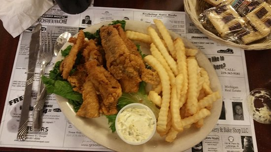 Sturgis, MI: This is the Fish All You Can Eat dinner it was right on point.