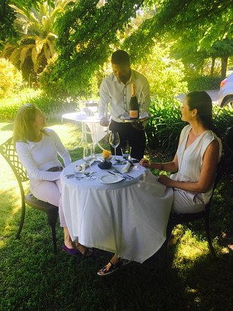 Grabouw, South Africa: Lunch time