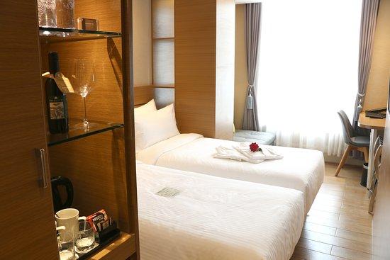 Yantai, China: 标准双床房