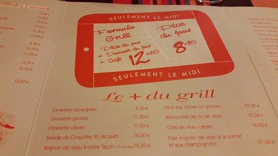Saint-Flour, Frankrijk: formule