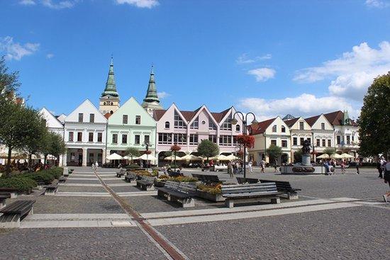Zilina, Słowacja: Piazza