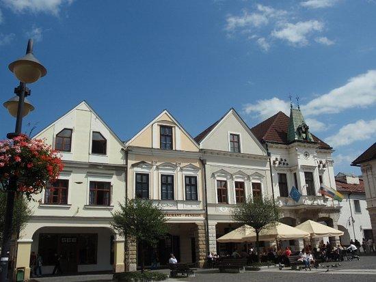 Zilina, Słowacja: Paizza con vecchio comune