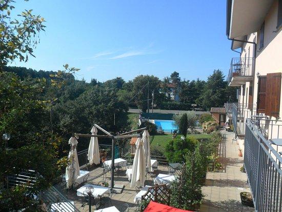 San Venanzo, Italië: Esterno hotel