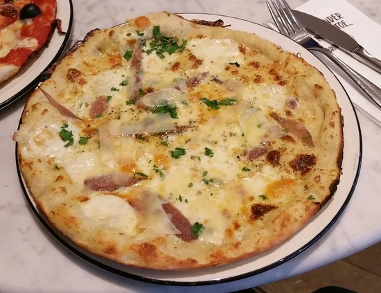 Cauliflower Cheese Classic Picture Of Pizza Express
