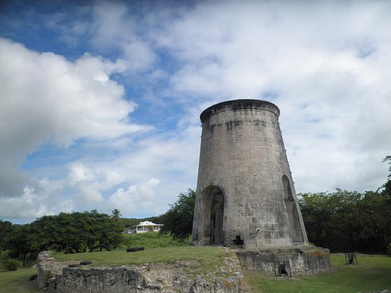 Grand Bourg, Guadeloupe: ancien moulin