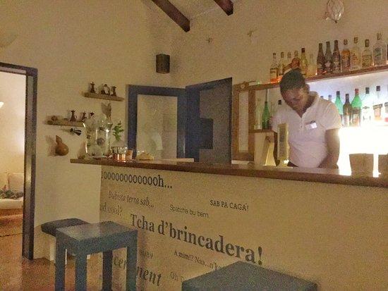 Espingueira, Kap Verde: Le bar et la salle à manger