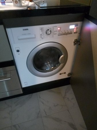 Washer/dryer combo in the room - Picture of Adina Apartment Hotel ...
