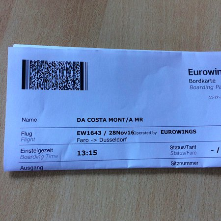 eurowings ticket