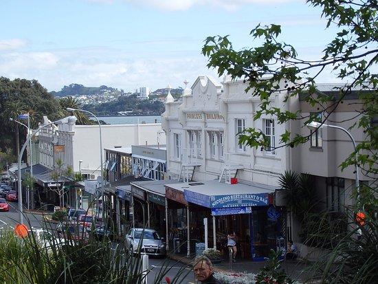 Devonport, Nouvelle-Zélande : デボンポートへの道