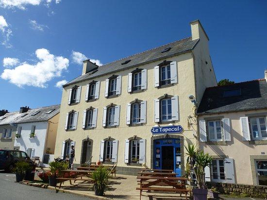 Plougastel Daoulas, Francia: La terrasse ensoleillée du Tapecul