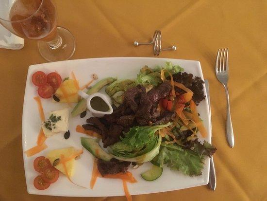 Little Brazil : Gemischter Salat mit Picanha