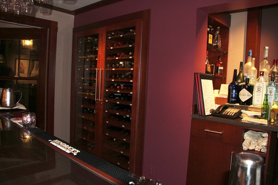 Chevy Chase, MD: Chilled Wine Cabinet
