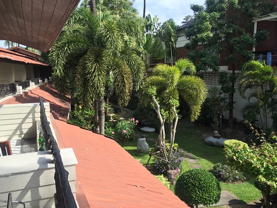 Phi Phi Banyan Villa: view from our balcony looking toward pool (bot not visible in photo)