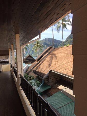 Phi Phi Banyan Villa: front door entrance to our room...can see Tonsai Bay!!!