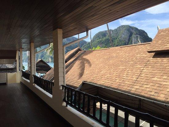 Phi Phi Banyan Villa: front door entrance to our room...can see Tonsai Bay!!