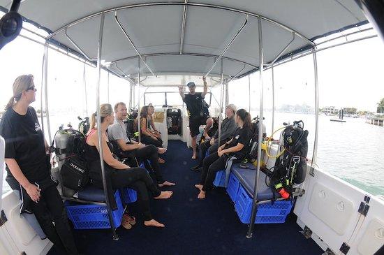 "Mooloolaba, Australia: The dive boat ""2 Easy"""