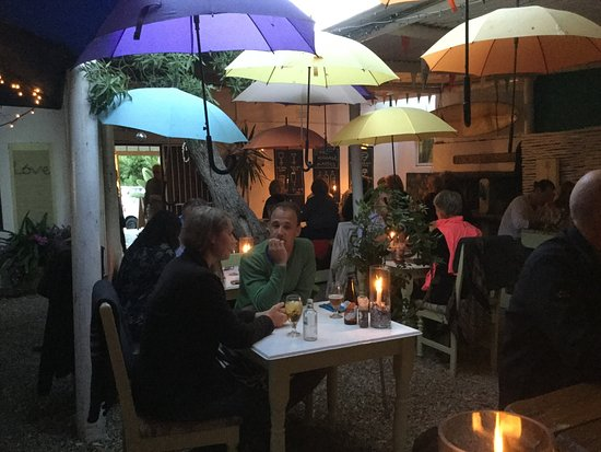 Paternoster, Afrique du Sud : Eating in the Rain?