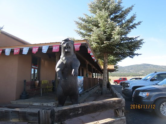 Angel Fire, NM: big bear welcome
