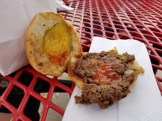 Pure burger heaven awaits you....