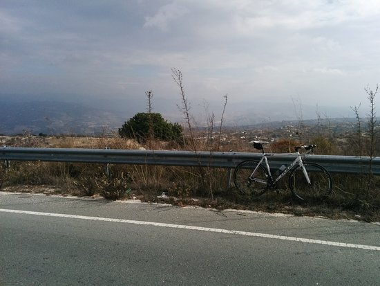 Paphos District, Cyprus: Climbing in the hills