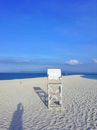 Palompon, Филиппины: Famous chair on the island