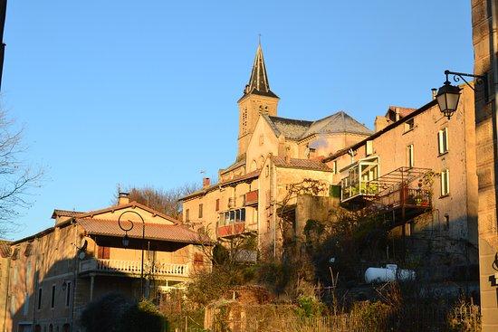 Saint-Felix-de-Sorgues, Francja: Vue du village