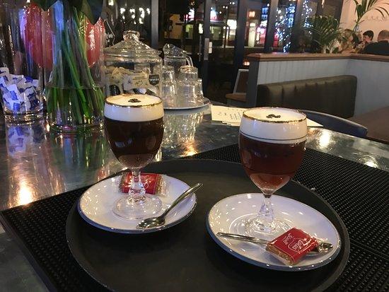 Horley, UK: Irish Coffee