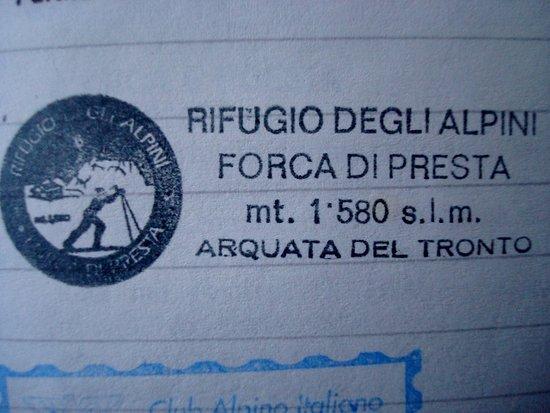 Arquata del Tronto, Italie : Ricordo di un'escursione di tanti anni fa...