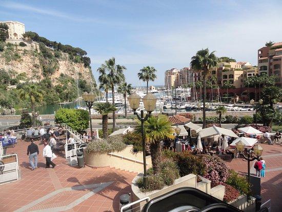 Fontvieille, Monaco: vue port