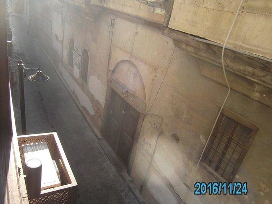 Alp Pasa Hotel : vue de la ch.fuat pasa