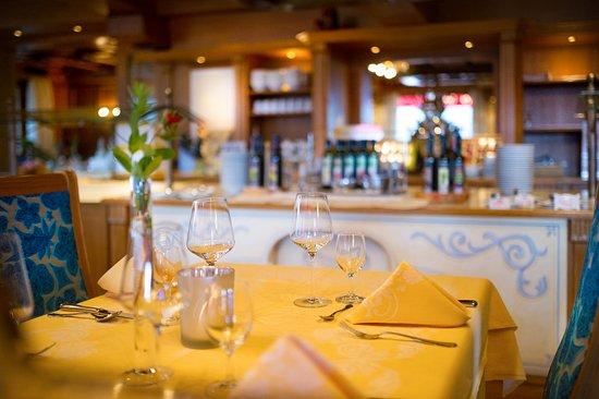 Muhlbach am Hochkonig, Austria: Salatbuffet im Speisesaal