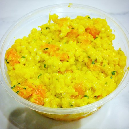 Tustin, Kalifornien: Curried Couscous