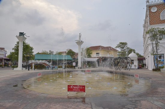 Cha-am, Thailand: Hauptplatz