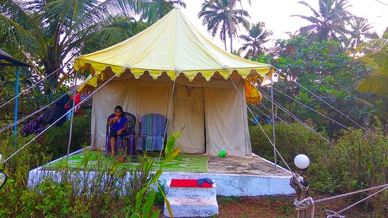 Five Five Restaurant and Guest Tents Image & 5 star - Picture of Five Five Restaurant and Guest Tents Anjuna ...