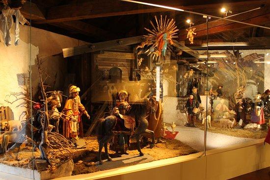 museum schloss ritzen part of the xmas crib show permanent