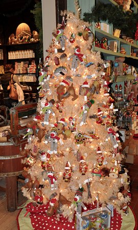 Rockingham, VT: Vermont Country Store - Festive Decorations