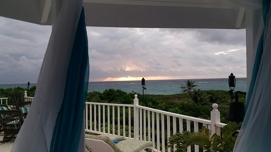 Silver Sands, Barbados: View from Gazebo