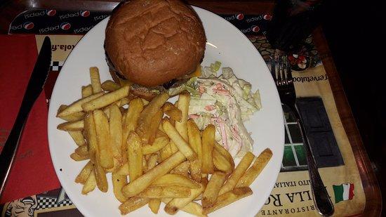 Kuopio, Finlandia: Burger :)