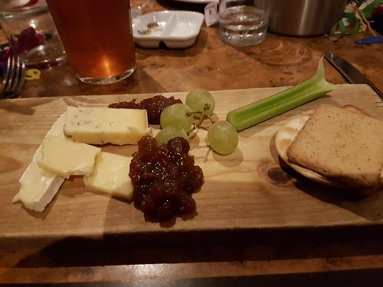 Vaughan's: Seriously - a Cheese board! You are taking the mickey!