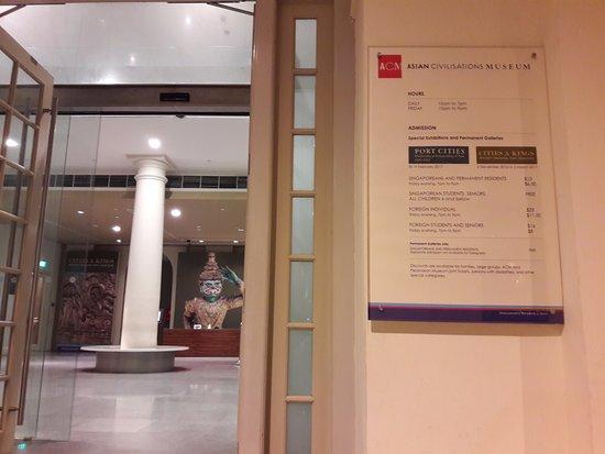 Museum der Asiatischen Zivilisationen: Admission Prices