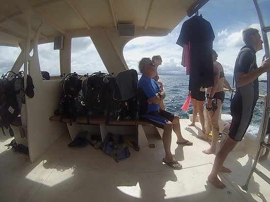 Pueblo de Bocas, Panamá: The boat