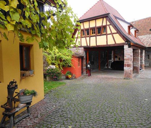 Pfaffenheim, France : Espace pour les 2 suites