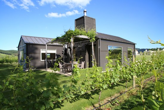 Havelock North, New Zealand: Cottage set amidst the vineyard