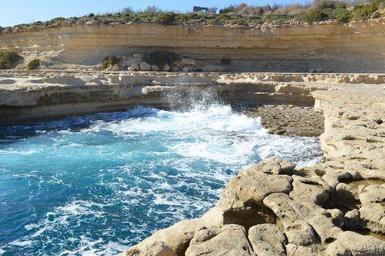 Marsaxlokk, Malta: mer agitée !