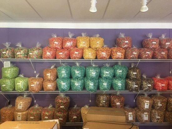 Boothbay Harbor, ME: Coastal Maine Popcorn Co