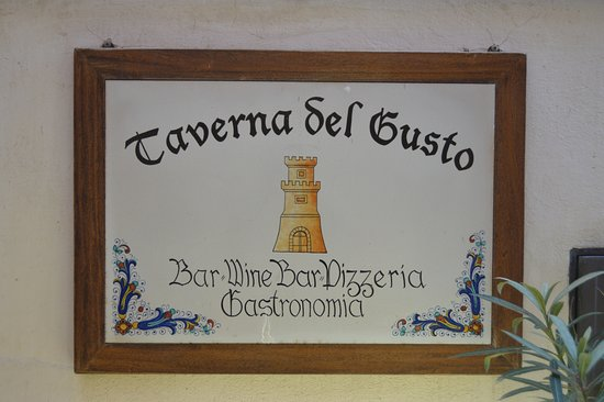 Deruta, Italia: Таверна дель Густо